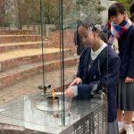 震災から24年、希望の灯りの分灯が始まりました!!分灯された灯りは17日に合わせて行われる追悼行事等で灯されます。
